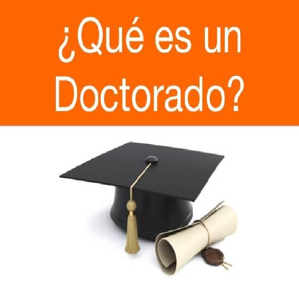 hacer un doctorado en España 1