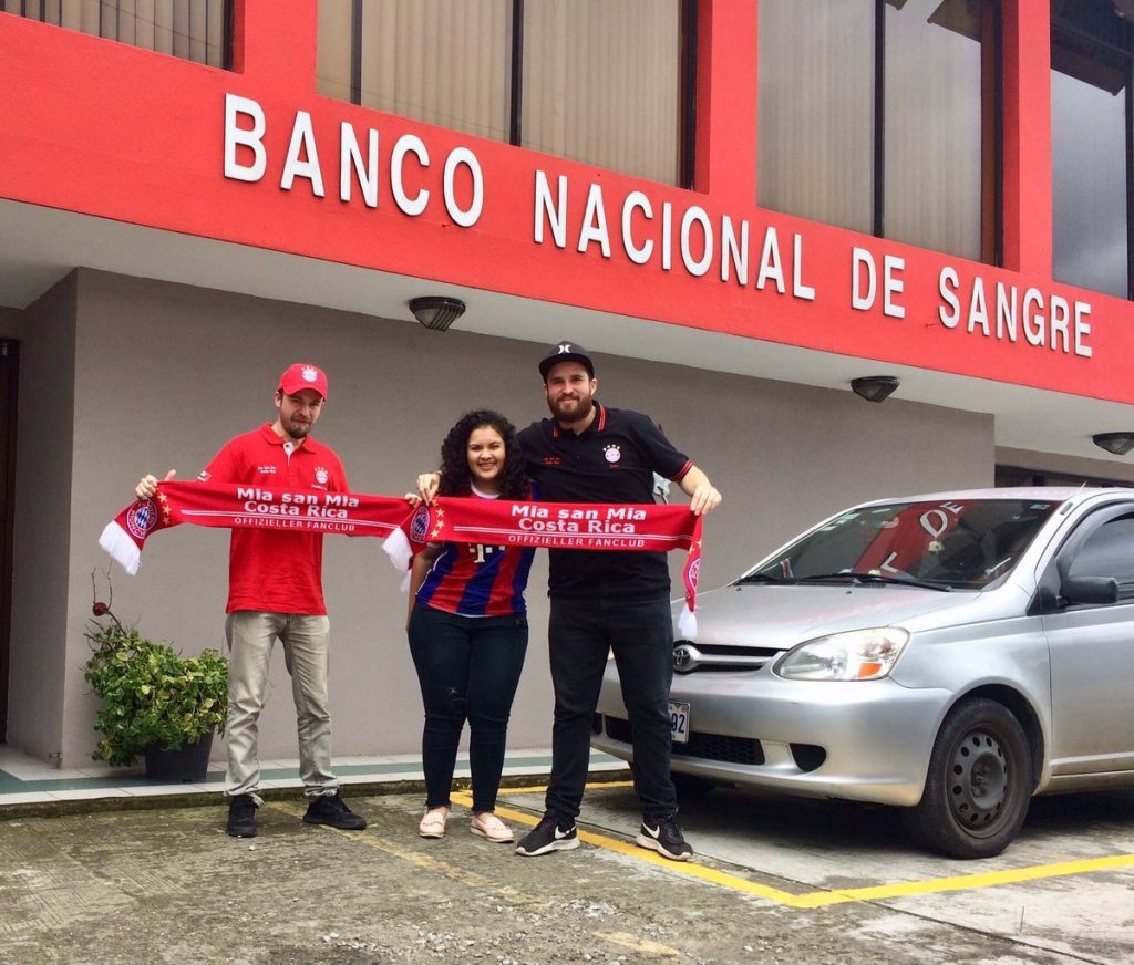 banco de sangre Costa Rica
