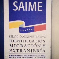 SAIME: Verificación de la cédula de identidad