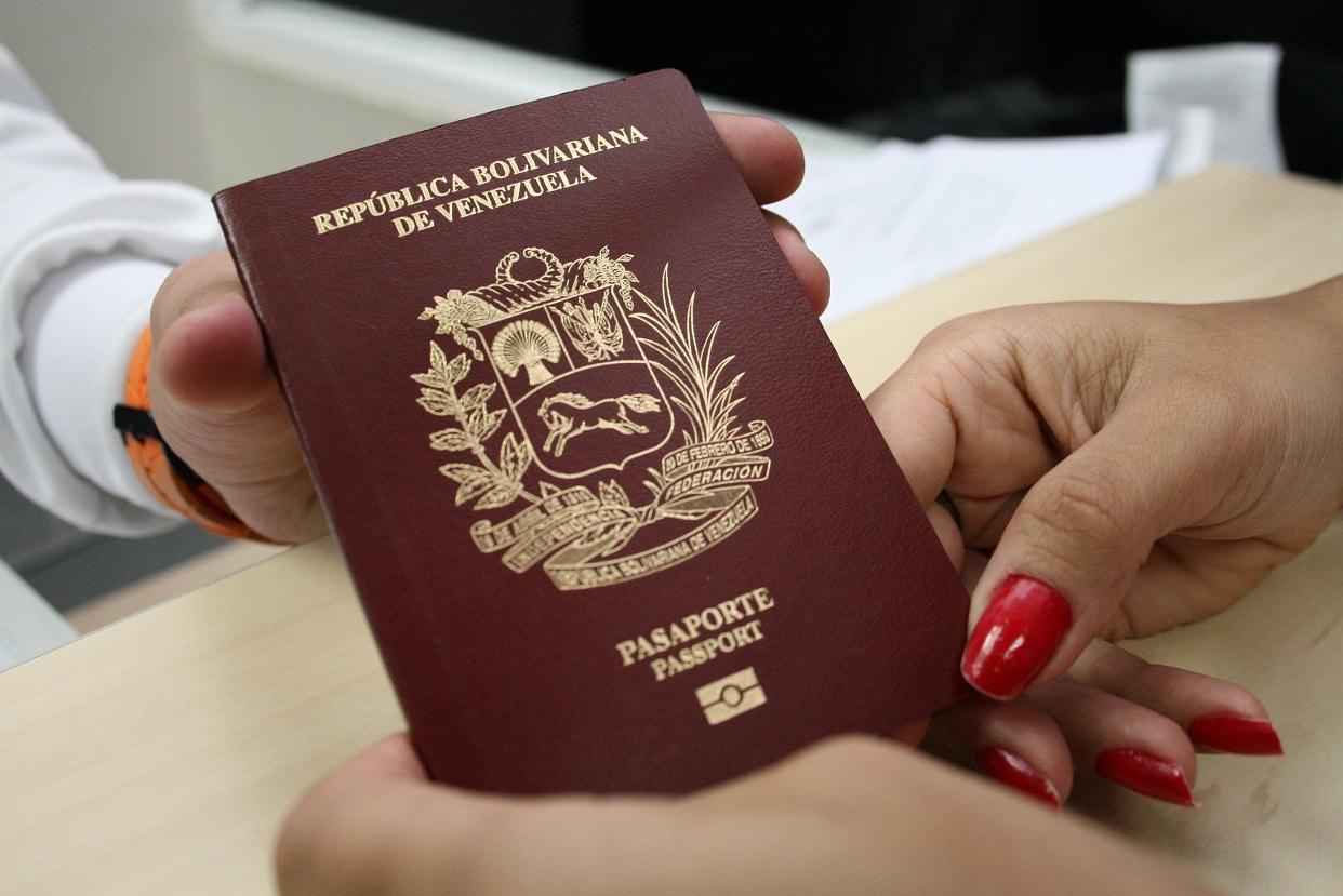 saime planilla de solicitud de pasaporte