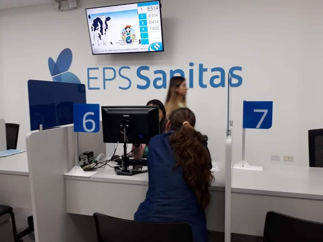 Afiliaciones en EPS Sanitas