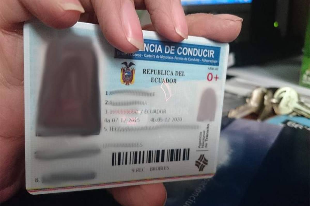 Renovacion De Licencia Tipo B En Ecuador Consulta Aqui