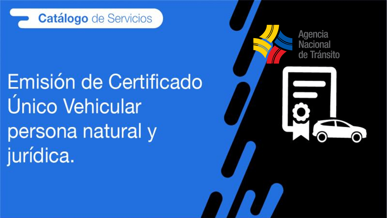 certificado único vehicular
