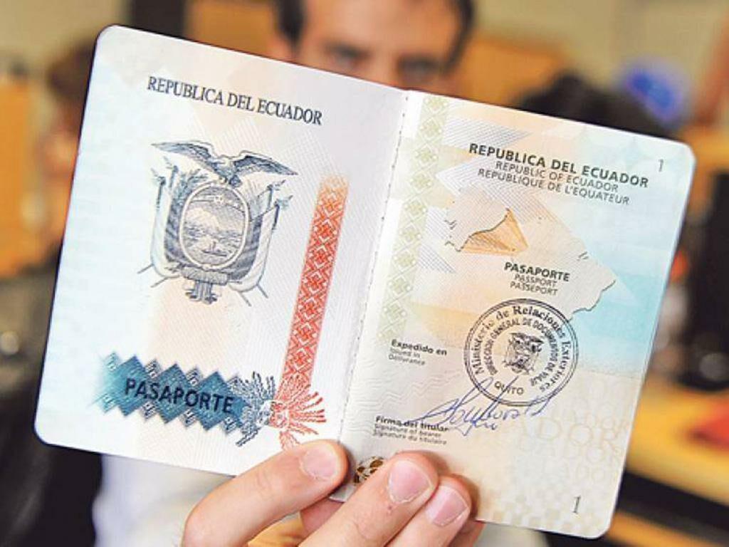 requisitos para sacar el pasaporte en Ecuador