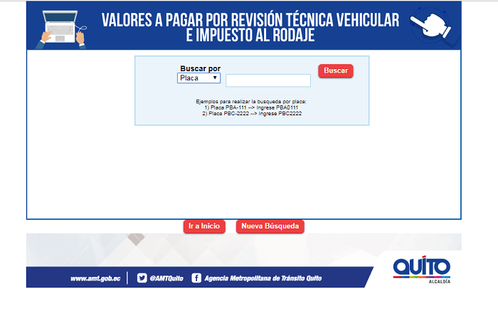 Cita revisión vehicular Carapungo