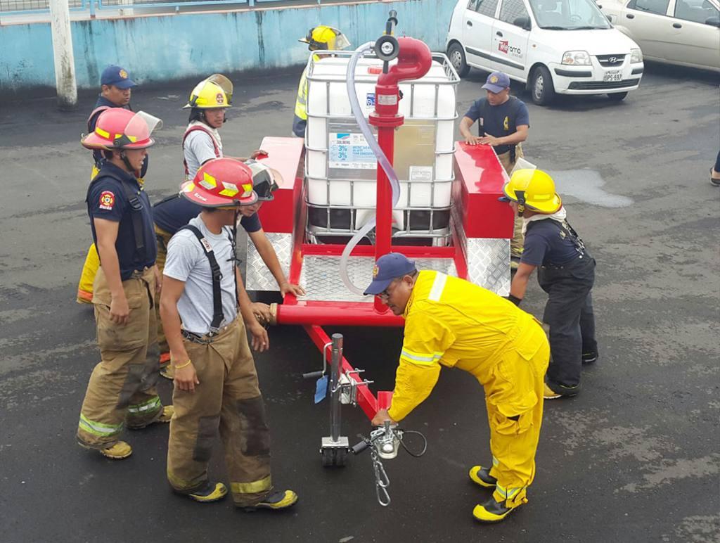 bomberos duran