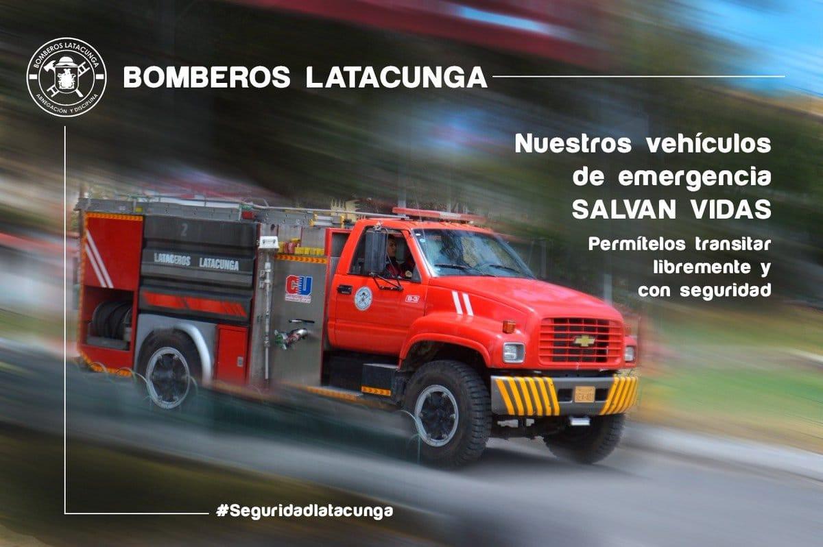 bomberos latacunga