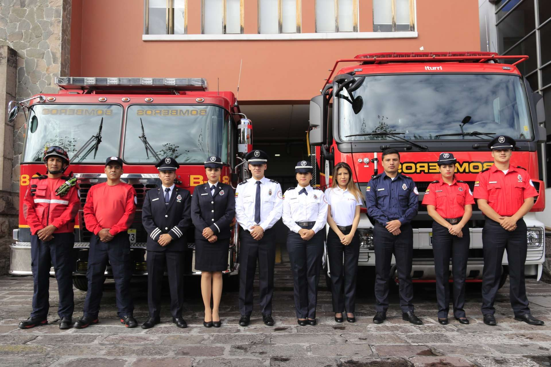 bomberos quito