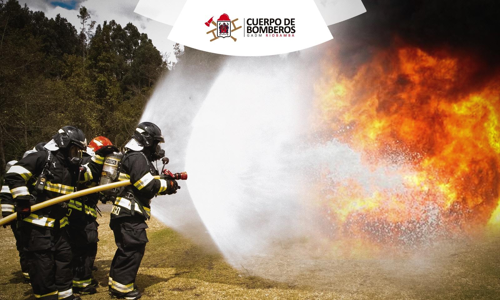 bomberos riobamba