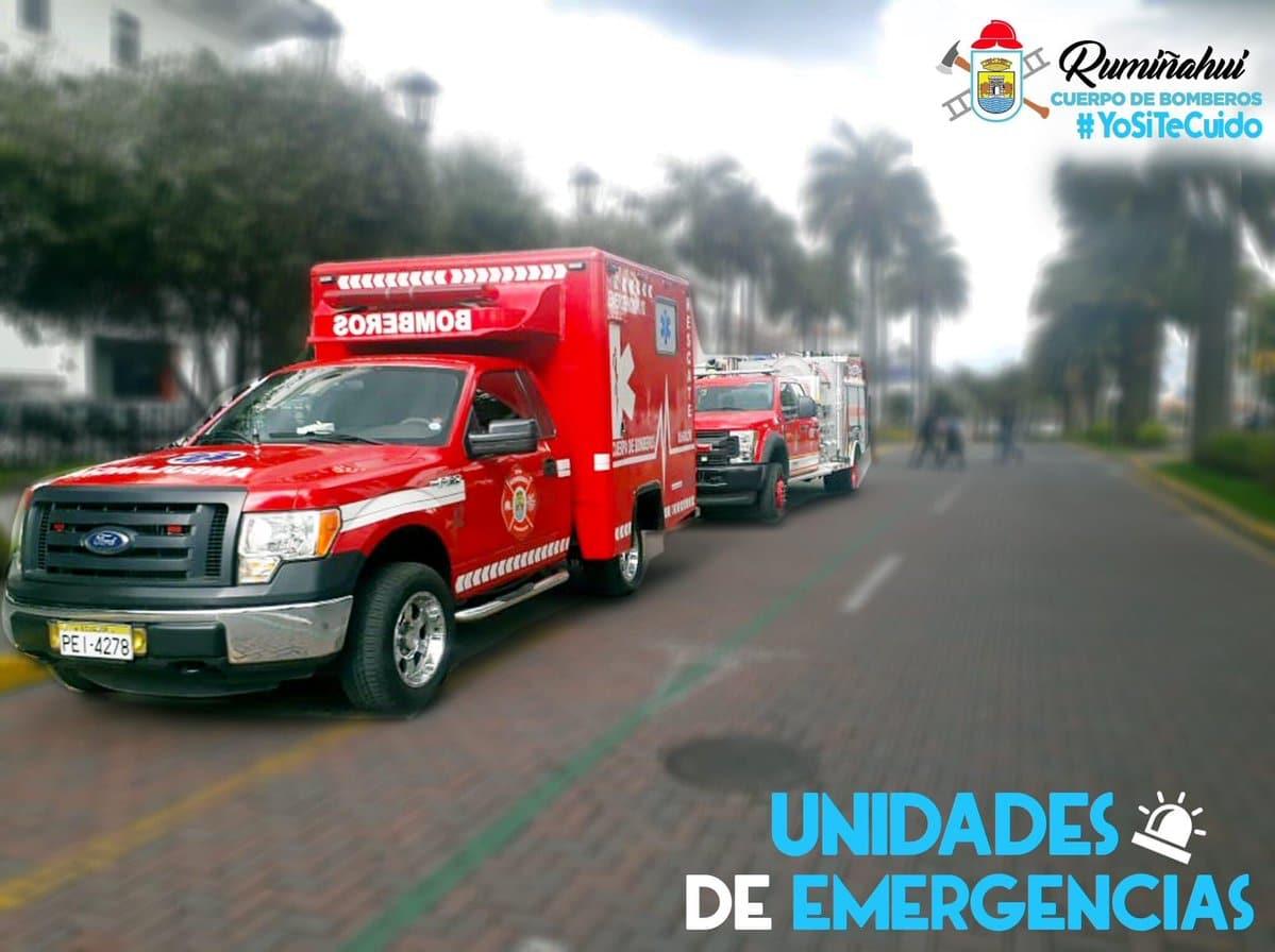 bomberos rumiñahui