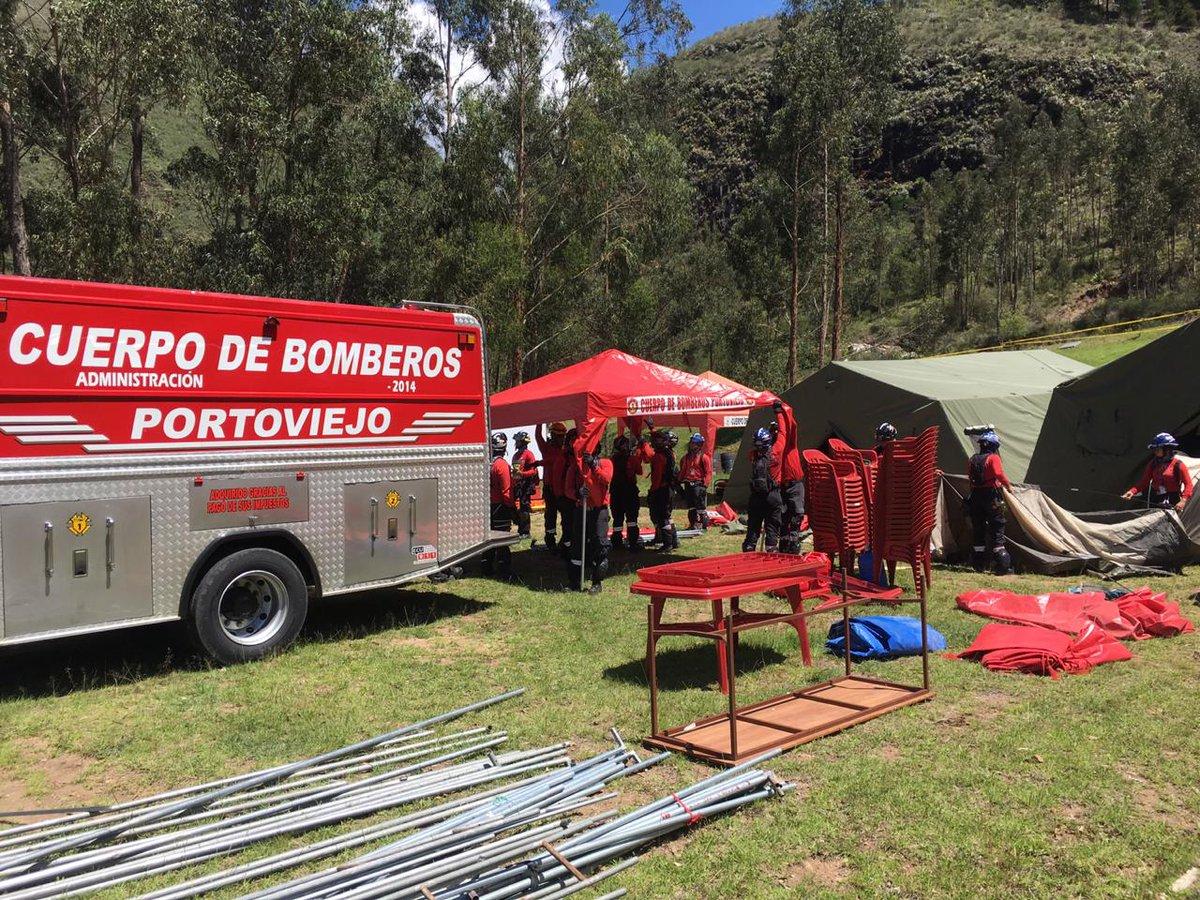 cuerpo de bomberos portoviejo