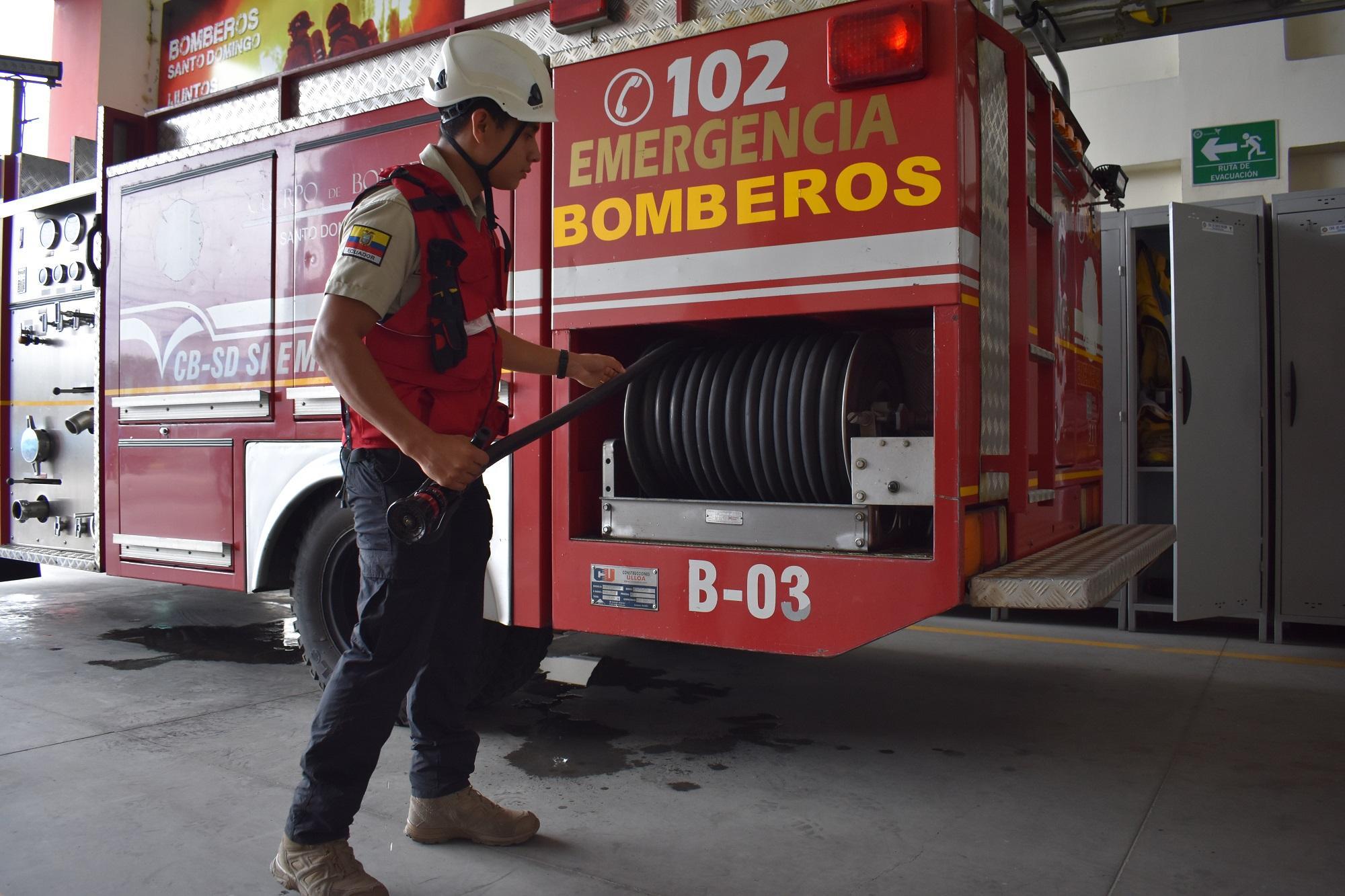 cuerpo de bomberos santo domingo