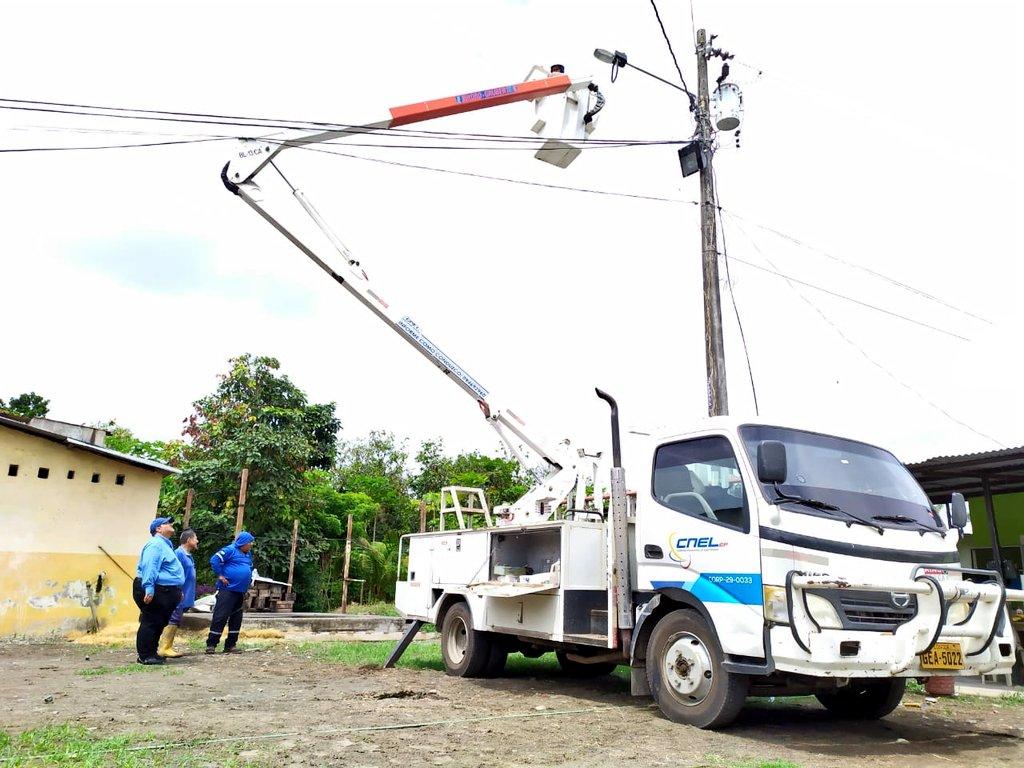 empresa eléctrica Milagro