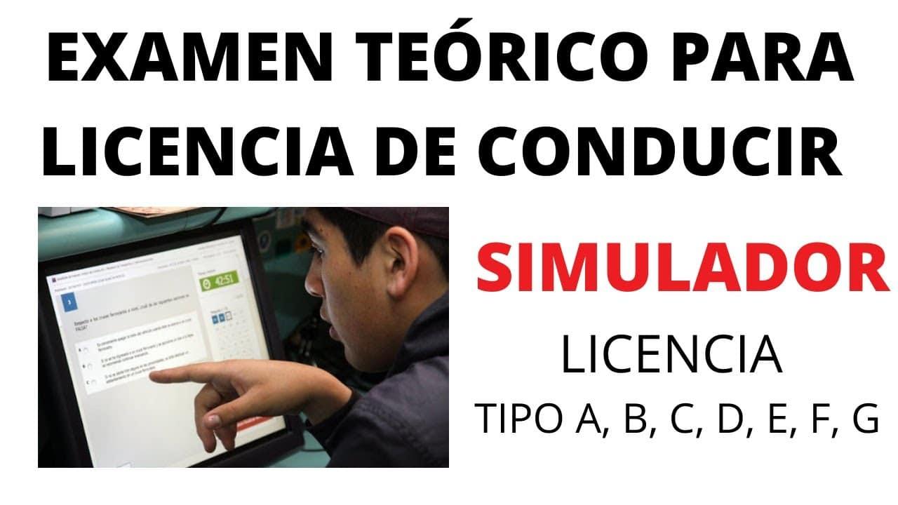 Ejemplo De Simulador De Examen Teorico De Conduccion