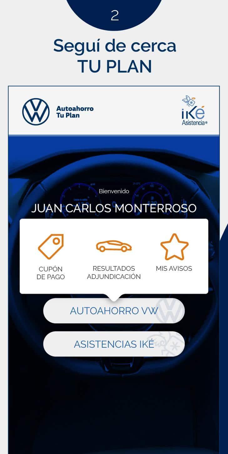 autoahorro Volkswagen consultar estado de cuenta