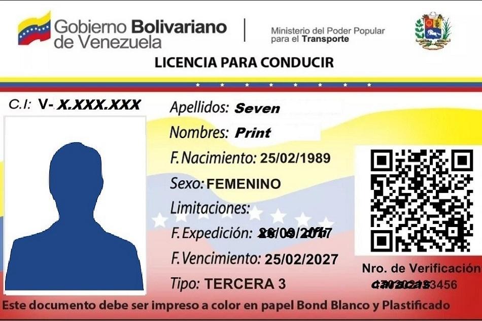 canjear carnet de conducir venezolano en españa